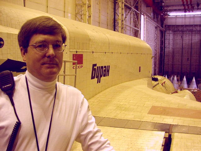 Photo of Doug Manuel with Buran